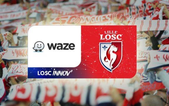 Lille segue tendência do futebol mundial e faz acordo com aplicativo Waze