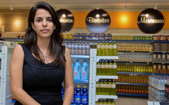 Ela criou startup que amplia presença de lojas físicas na internet